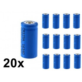 BSE - BSE ICR16340 16340 RCR123A 600mAh 3.7V Lithium rechargeable battery - Other formats - BS427-CB