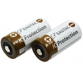 EagTac, EagleTac 16340/RCR123A 750mAh 1.5A (Protected), Other formats, NK071-CB