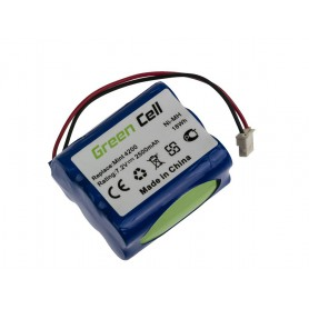 Green Cell, Power Tool Battery for iRobot Braava / Mint 320 321 4200 4205 7.2V 2500mAh Ni-MH, Electronics batteries, GC078