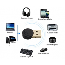NedRo, Bluetooth V4.0 USB Dongle Adapter, Wireless, AL1083