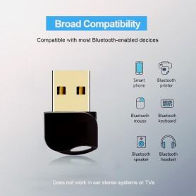 Oem - Bluetooth V4.0 USB Dongle Adapter - Wireless - AL1084