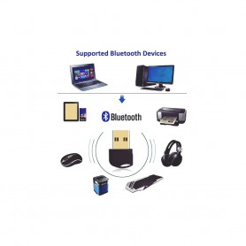 NedRo - Bluetooth V4.0 USB Dongle Adapter - Wireless - AL1084