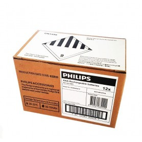 PHILIPS - Philips MultiLife 1.2V AAA/HR03 950mah NiMh rechargeable battery - Size AAA - BS051-CB