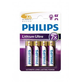 Philips Ultra FR6 AA 3.000 mAh 1.5 V Battery Lithium