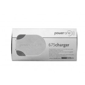 Rayovac - Power One Pocket Charger for P675 button cell battery NiMH - Battery chargers - BS436