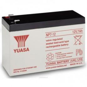 Yuasa NP7-12 Rechargeable Lead Acid Battery 12v / 7 Ah