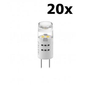 Calex - Calex LED burner G4 12V 1,5W 80lm 3000K matt - G4 - CA0151-CB