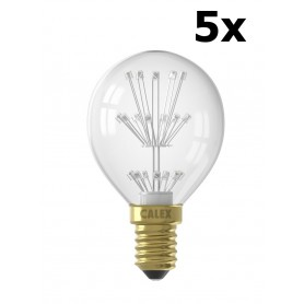 Calex - Pearl LED ball lamp E14 70lm 240V 1W 2100 K. - E14 LED - CA0194-CB