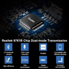 NedRo, Bluetooth 5.0 USB Dongle Adapter V5.0, Home, AL1093