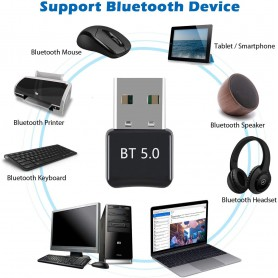 Oem - Bluetooth 5.0 USB Dongle Adapter V5.0 - Wireless - AL1093