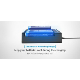 XTAR - XTAR MC4 USB battery charger for 18650 21700 20700 440 14500 16340 batteries - Battery chargers - NK468 www.NedRo.us