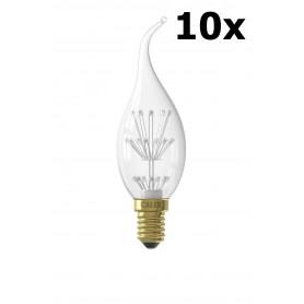 Calex - Pearl LED lamp E14 70lm 240V 1.1W 2100 K - E14 LED - CA0198-CB
