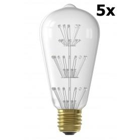 Calex - Calex Pearl LED lamp 240V 2W E27, 47-leds 2100K - E27 LED - CA0201-CB