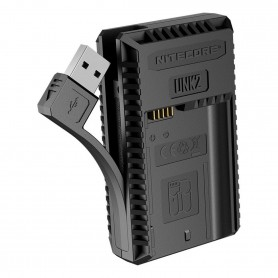 NITECORE - Nitecore UNK2 USB charger for Nikon EN-EL15 / EN-EL15 (a / b) - Nikon photo-video chargers - NK469 www.NedRo.us