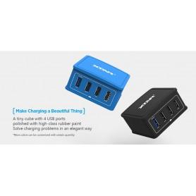 XTAR - Xtar network charger 4U 4x USB 5.4A 27W - Ac charger - NK470