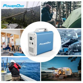 PowerOak - PowerOak PS8 1.500Wh solar AC/DC generator - Energy storage - PON-PS8