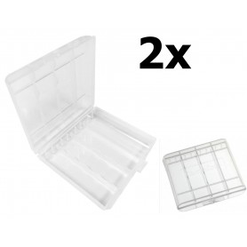 Camelion - Camelion transport box for batteries Mignon (AA) / Micro (AAA) - Battery accessories - BS461-CB