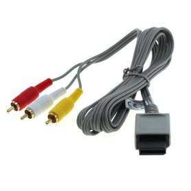 Oem - Video cable compatible with Nintendo Wii / Wii U / Wii Mini - Nintendo Wii - ON6301