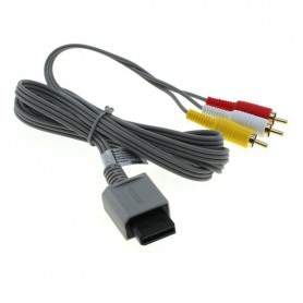 NedRo - Video cable compatible with Nintendo Wii / Wii U / Wii Mini - Nintendo Wii - ON6301