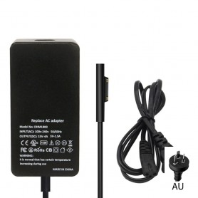 NedRo - 15V 4A 65W AC adapter for Microsoft Surface PRO 3/4/5/6/7 + 5V 1A USB-port - Laptop chargers - AL552-CB
