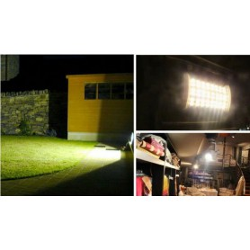 Oem - R7S 118mm 30W 64x SMD 5730 LED Lamp White - Dimmable - Tube lamps - AL1090-WD