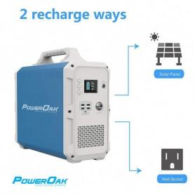 PowerOak - PowerOak PS9 1.800Wh solar AC/DC generator - Energy storage - PON-PS9
