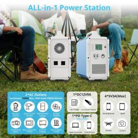 PowerOak - PowerOak PS10 2.400Wh solar AC/DC generator - Energy storage - EB240