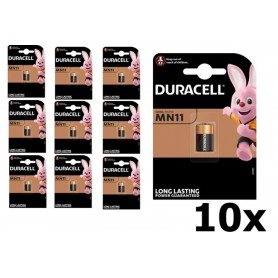 Duracell - Duracell Security A11 MN11 11A 6V alkaline battery - Other formats - BS097-CB