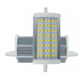 Oem, R7S 118mm 15W 48x SMD 5730 LED Lamp Cold White - Dimmable, Tube lamps, AL1095-CWD