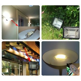 Oem, R7S 118mm 15W 48x SMD 5730 LED Lamp White (daylight) - Dimmable, Tube lamps, AL1095-WD
