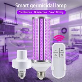 Oem - Smart E27 30W UV LED 110-240V 395nm with ON / OFF switch and remote control - E27 LED - AL1096