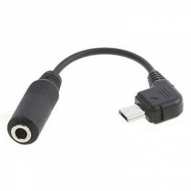 Micro USB Male to Audio 3.5mm Female cable adapter