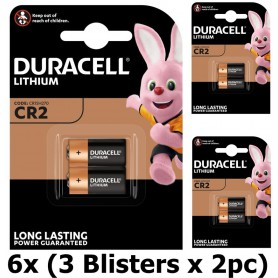 Duracell - Duracell CR2 Lithium battery - Blister of 2 pieces - Other formats - BS069-CB