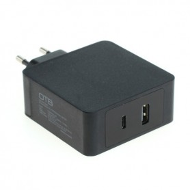 HOCO - Fast Charging USB DUAL (USB-C + USB-A ) with USB-PD - 57W - Ac charger - ON6306