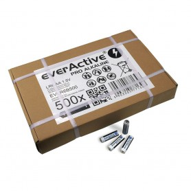 EverActive - 500x everActive Pro Alkaline LR6 AA alkaline battery (industrial bulk carton) - Size AA - BL330