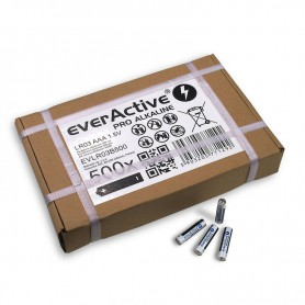 EverActive - 500x LR03 AAA everActive PRO Alkaline 1.5V 1250mAh (industrial packaging) - Size AAA - BL331