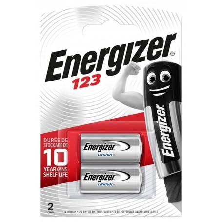 Energizer - Energizer CR123 3V lithium battery - Other formats - BL113-CB