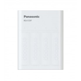 Eneloop - 2.25h Panasonic Eneloop USB Charger Powerbank BQ-CC87 - Battery chargers - BL334