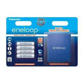 AAA R3 Panasonic Eneloop Rechargeable Batteries + Free storage box