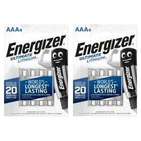 Energizer - AA LR6 Energizer Ultimate Lithium 3000mAh 1.5V - Size AA - NK428-CB