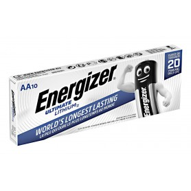Energizer - AA L91 Energizer Ultimate Lithium 3000mAh 1.5V - Size AA - NK426-CB