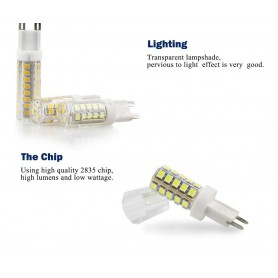NedRo - G9 5W Warm White SMD2835 LED Lamp - Not dimmable - G9 LED - AL228