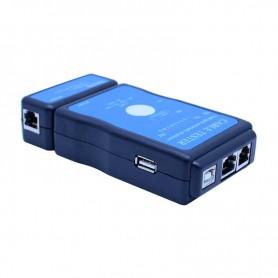 Oem - Cable tester LAN USB RJ45 RJ11/RJ12 Network ethernet CAT5 UTP M726AT - Network Tools - YNK001-1