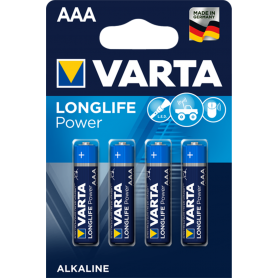 Varta - VARTA Longlife Power LR03 / AAA / R03 / MN 2400 1.5V alkaline battery - Size AAA - BS136-CB