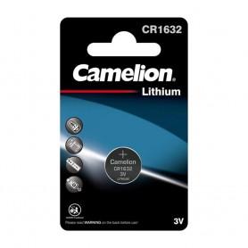 Camelion - Camelion CR1632 125mAh 3V Lithium battery - Button cells - BS229-CB