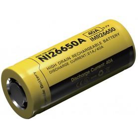 NITECORE - Nitecore IMR26650A Li-ion 4200mAh 3.7V 40A 26650 - Other formats - BS068-CB