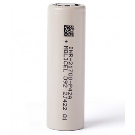Molicel - Molicel INR21700-P42A 4000mAh - 45A - Other formats - NK478-CB