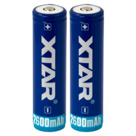 XTAR - Xtar 2600mAh 3.7V 18650 PCB PROTECTED battery - Size 18650 - BL354
