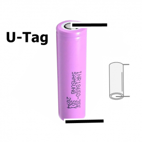 Samsung - LG INR18650MH1 3200mAh 10A 3.6V rechargeable Lithium battery - Size 18650 - NK482-CB
