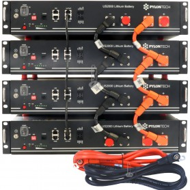 PYLONTECH - PYLONTECH US2000 48V 2.4 kWh Lithium Solar storage battery - Solar Batteries - DM-US2000